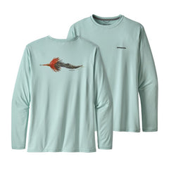 Patagonia Men's Long-Sleeved Capilene Cool Daily Fish Graphic Shirt
