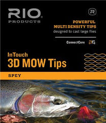 Rio Intouch Skagit 3D Mow Medium Tips Kit
