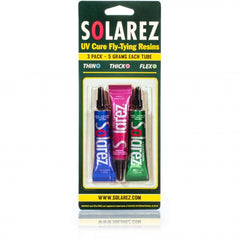 Solarez UV-Cure Fly Tie Resin 3-Pack