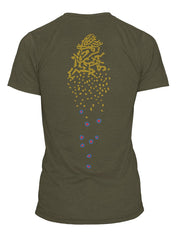 Rep Your Water: Brook Trout Spine Tee Shirt