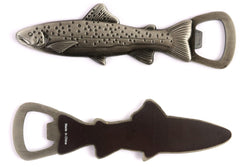 Brown Trout Magnet Bottle Opener - Pewter
