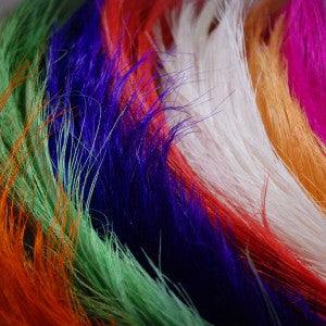 Rhea Feathers: Individual Dyed