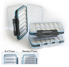 Waterproof Double Sided Fly Box-with foam