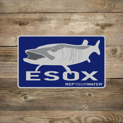 Rep Your Water ESOX Decal