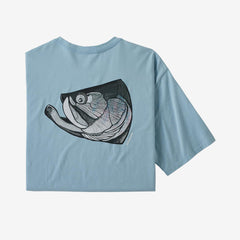 Patagonia Men's Fish Noggins Organic T-Shirt