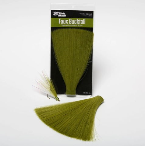 Synthetics: Fish Skull Faux Bucktail