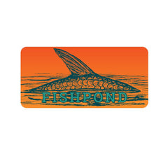 Fishpond Sunrise King Sticker 5.5""