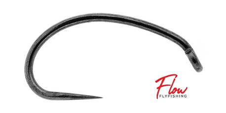 Flow Fly Fishing Barbless Fly Hooks: Caddis