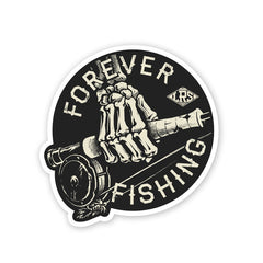 LRS: Sticker - Forever Fishing Reel