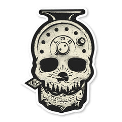 LRS: Sticker - Forever Fishing Skull