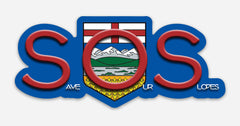 SOS: Save Our Slopes Stickers