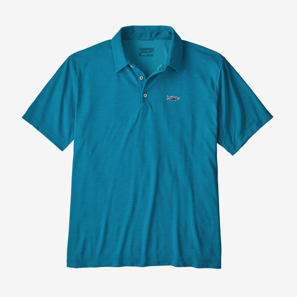 Patagonia Men's Sunshade Polo - Tarpon Fitz Roy