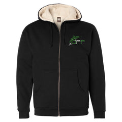 O.F.F. Fly Shop Fleece Full-Zip Hooded Sweatshirt