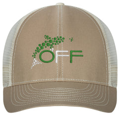 O.F.F. Hat: Branded Logo Caps