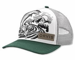 Orvis Hat: Jumping Trout Foam Dome