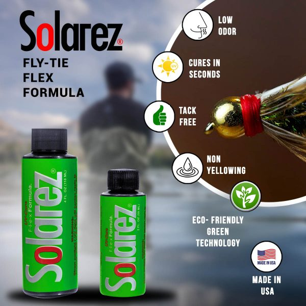 Solarez UV-Cure Fly Tie Resin: Flex Formula