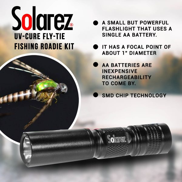 Solarez UV-Cure Fly Tie Resin Roadie Kit