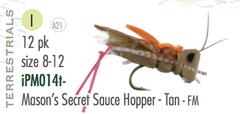 Hopper Patterns: Mason's Secret Sauce Hopper (all colors)