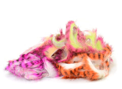 Hareline Tiger Barred Magnum Rabbit Strips