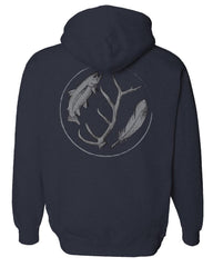 Rep Your Water: Men's Wild Water Mid-Weight Eco Hoody