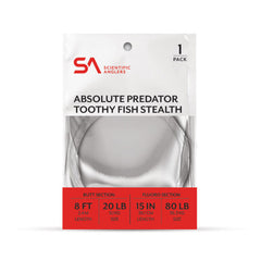 Scientific Anglers Absolute Predator Toothy Fish Stealth