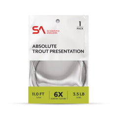 Scientific Anglers - Absolute Trout Presentation Leader (1 Pack)