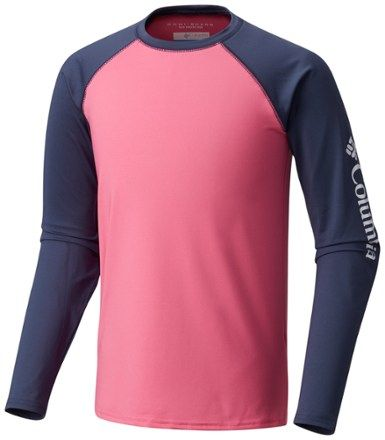 Columbia Youth Mini Breaker™ II Long Sleeve Sunguard Top