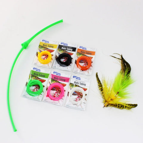 Artificial Dragon Tails Saltwater Muskie Bait Fish Fly Tying Wiggle Material