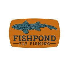 Fishpond Sticker - Cruiser 6""