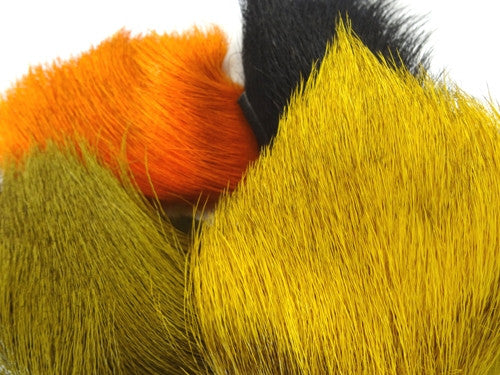 Custom Dyed Elk Hair