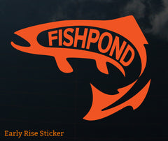 Fishpond Sticker - Early Rise 8""