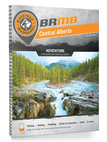 Backroad Mapbooks: Central Alberta