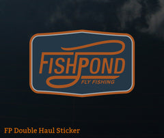 Fishpond Sticker - Double Haul 5""