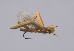 Hopper Patterns: Dornan's Insect Brown/Orange Hot Rod Hopper