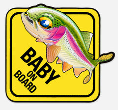 Nick Laferriere Baby On Board Trout Decals