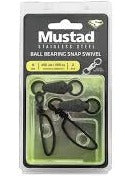 Mustad Stainless Steel Ball Bearing Snap Swivel
