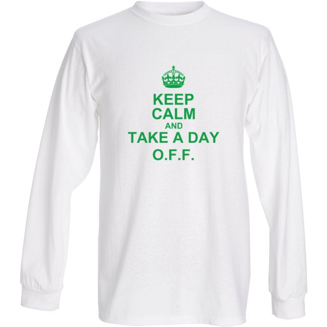 OFF Fly Shop Long Sleeve T-Shirt: Keep Calm