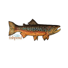 Fishpond Local Sticker 6""