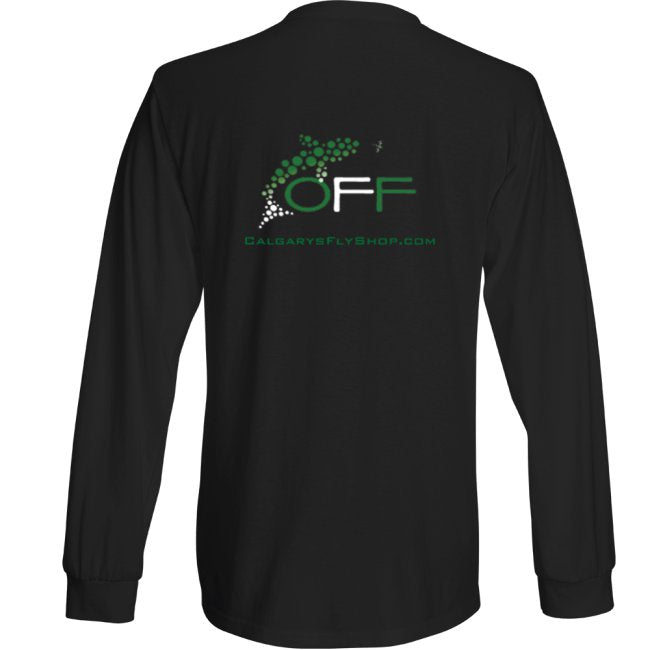 O.F.F. Fly Shop Long Sleeve Logo T-Shirt