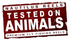 Nautilus Reels Sticker: Tested on Animals