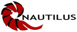 Nautilus Reels Sticker: Die Cut Red Logo