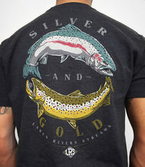 LRS: Men's Silver and Gold Tee