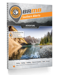 Backroad Mapbooks: Southern Alberta