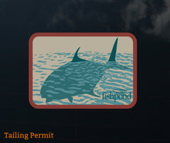 Fishpond Sticker - Tailing Permit 5""