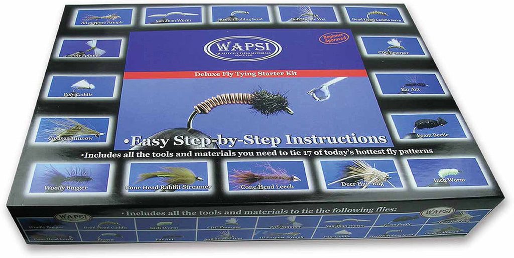 Wapsi Deluxe Fly Tying Starter Kit