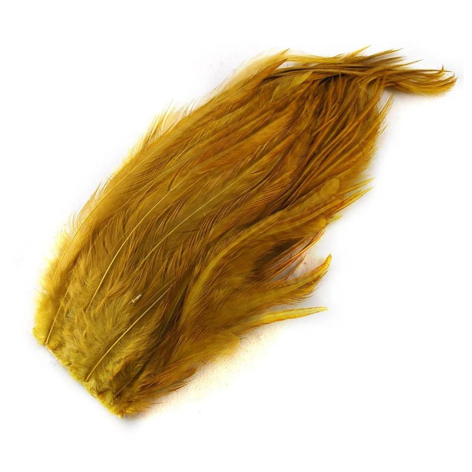 Badger dyed Golden Olive Whiting Farms Bugger Pack