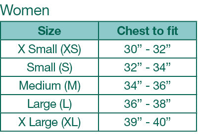 AK Sizing Charts: women