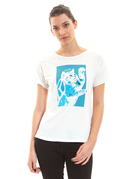 Angel Kitty Tee - Adventure Kitty  - 2