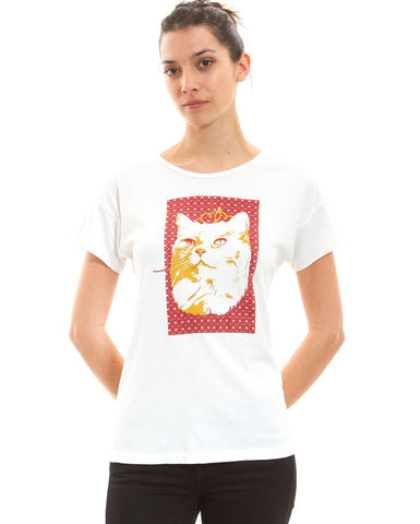 Queen Kitty Tee - Adventure Kitty  - 1