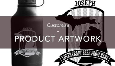 Customize Artwork on Products
